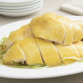 Recipe Chicken with Garlic Flavored Green Onion Oil S