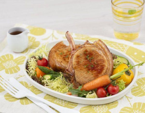 Garlic Flavored Pork Chop