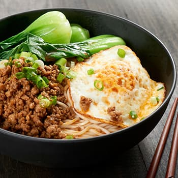 Recipe Noodles with Pork in Mixed Sauce