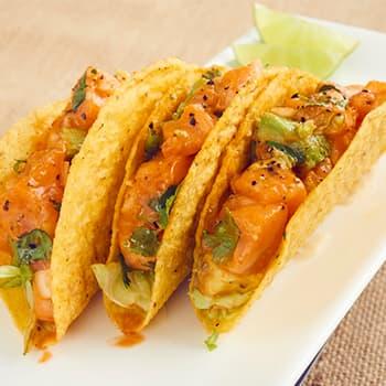 Poke Tacos