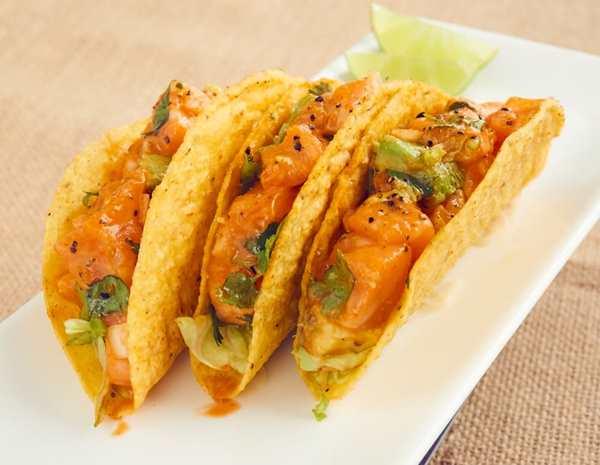 recipe poke tacos