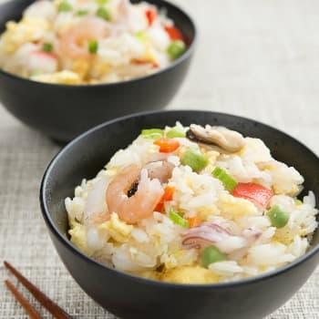 Recipe Seafood Fried Rice