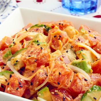 Recipe Tuna Poke with Sriracha Mayo S