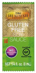 Gluten Free Soy Sauce 0.25 fl oz (8 ml)