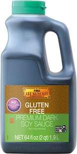 Gluten Free Premium Dark Soy Sauce  64 fl oz (1.9 L)