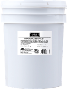 Ground Bean Sauce (C) KSA, 44 lb. Pail