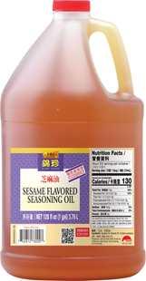 Kum Chun Sesame Flavored Seasoning Oil, 1 gal