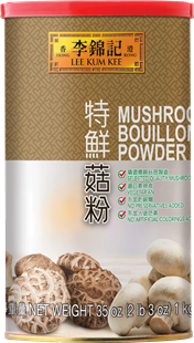 Mushroom Bouillon Powder, 1 kg Can