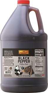 Panda Brand Black Pepper Grilling Sauce, 9.81 lb (4.45 kg) Pail