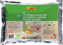Premium Bouillon Powder Flavored with Chicken, 5 lb (2.27 kg) Foil Bag
