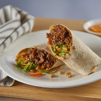 Recipe Asian Pulled Pork Wrap S