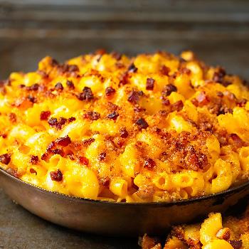 Recipe Fried Chili Garlic Mac and Cheese S