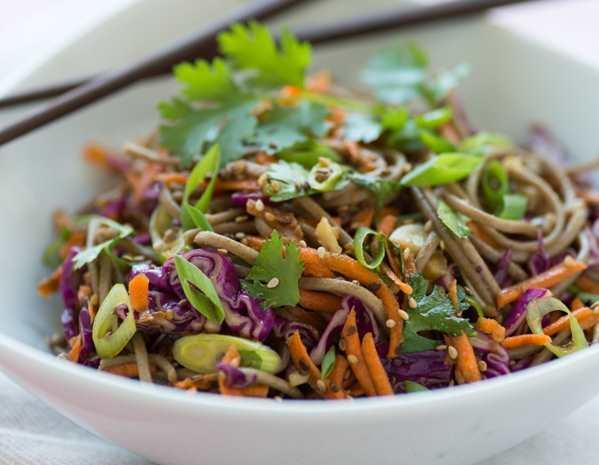 Recipe Gluten Free Soba Noodle Salad