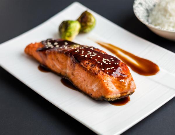 Recipe Japanese Style Glazed Salmon