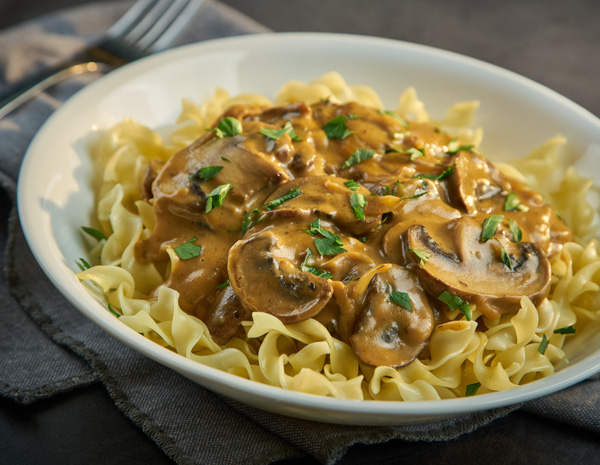 Recipe Mushroom Stroganoff