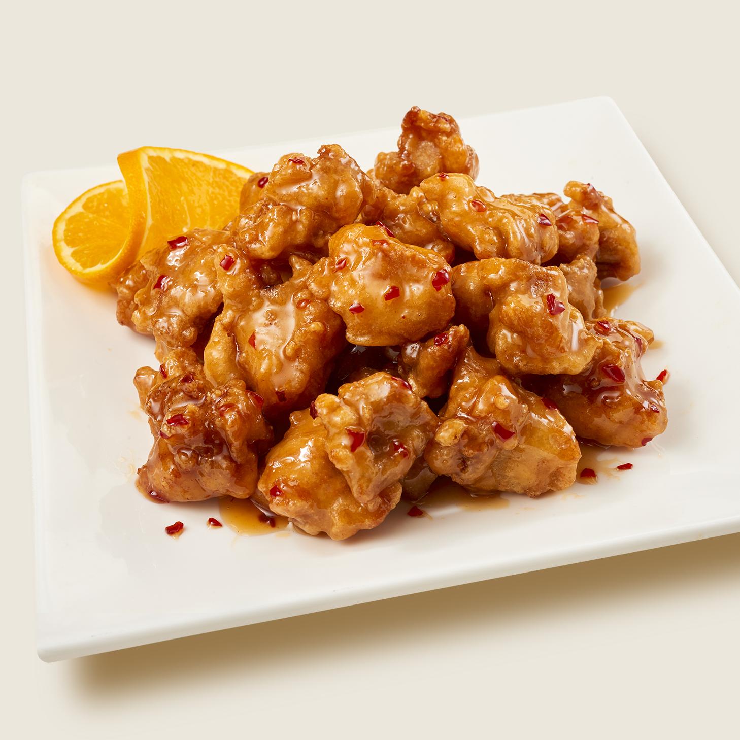 Recipe Orange Chicken Rice Bowl S