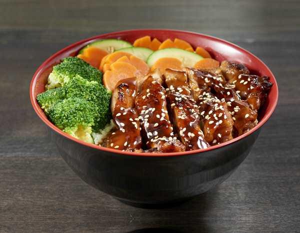 Recipe Teriyaki Chicken Bowl