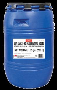 Soy Sauce NP KSA 55 gal Drum